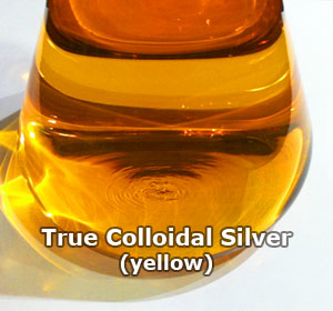 yellow colloidal silver